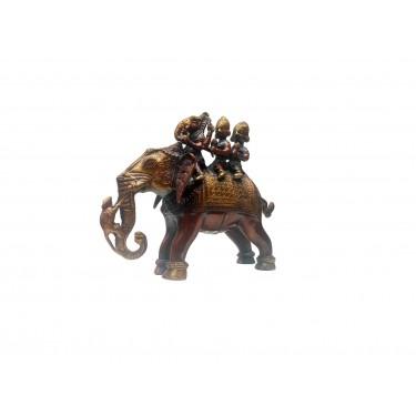Статуэтка «Ганеша на слоне»