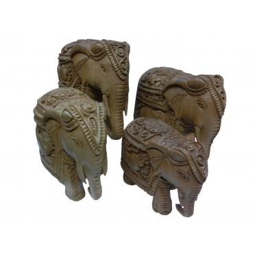 Набор статуэток «Царские слоны»