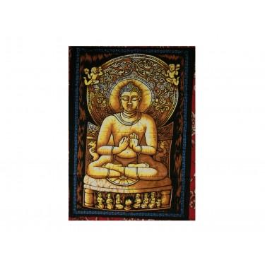 Панно - Будда (Золото-коричневое)