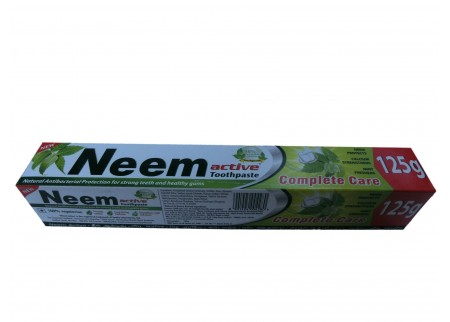 Зубная паста «Комплексная защита», Neem active 125 мл