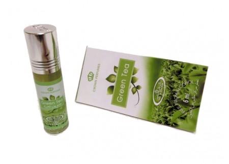 Арабские масляные духи Al Rehab, Green Tea