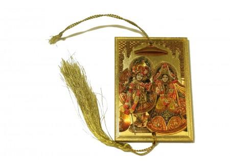 Оберег - Кришна с Радхой