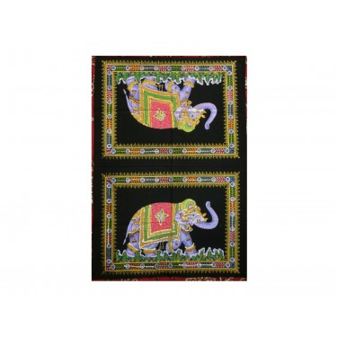 Панно - Два Слона