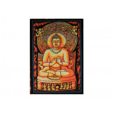 Панно - Будда (Золото-оранжевое)
