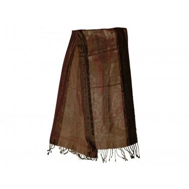 Шелковый жаккардовый шарф «Жилардо»
