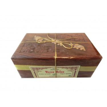 Чай индийский в деревянной шкатулке «Water Melon»