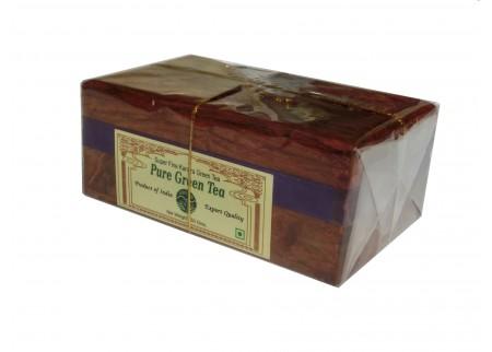 Чай индийский в шкатулке «Pure Green Tea»
