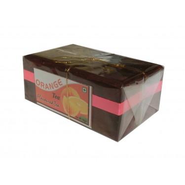 Чай индийский в деревянной шкатулке «Orange»
