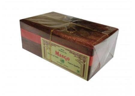 Чай индийский в деревянной шкатулке «Mango»
