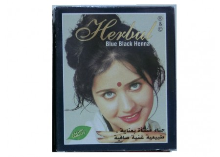 Хна сине-черная Herbul Henna Blue Black, 6x10г