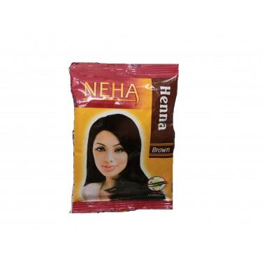 Хна коричневая Neha Herbals Henna Brown, 20г