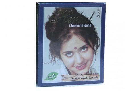 Хна каштановая Herbul Henna Chestnut, 6x10г
