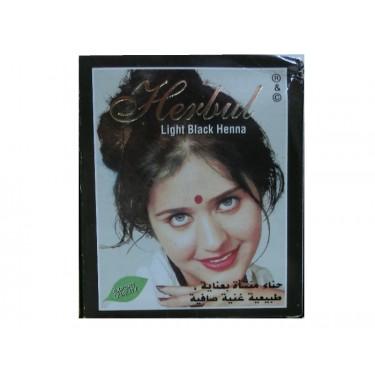 Хна светло-черная Herbul Henna Light Black, 6x10г