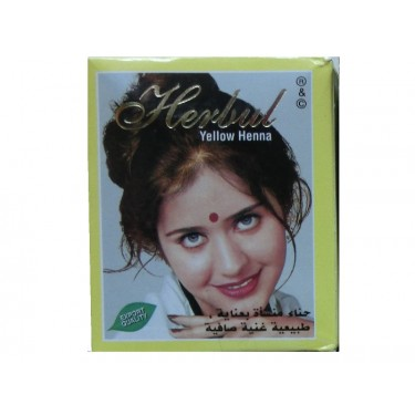 Хна желтая Herbul Henna Yellow, 6x10г