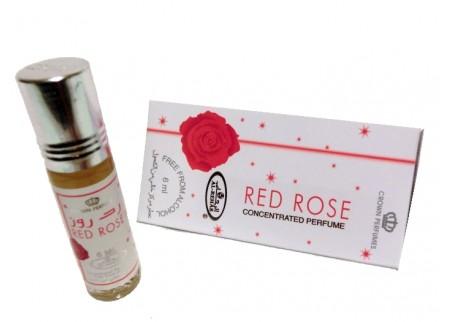 Арабские масляные духи Al Rehab, RED ROSE