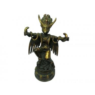 Статуэтка - Позолоченный Гаруда