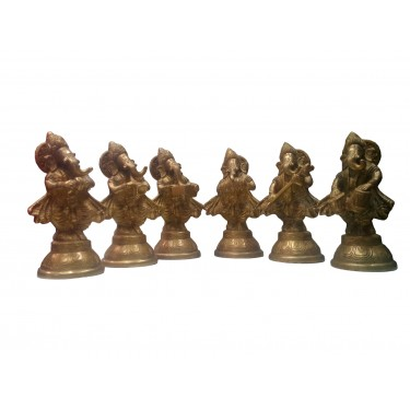 Статуэтки «Шесть обликов Ганеша»